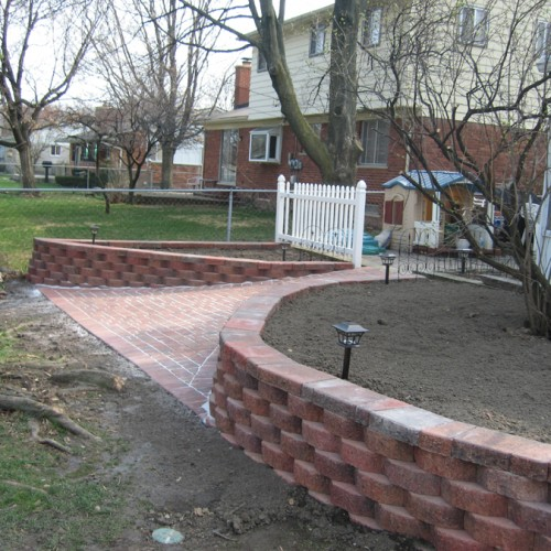 Best Landscaping in Livonia Garden Retaining Walls